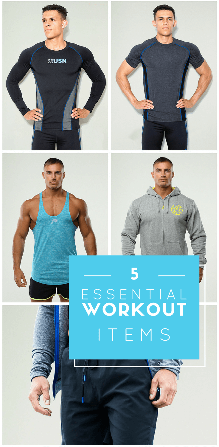 5 Essential Workout Items